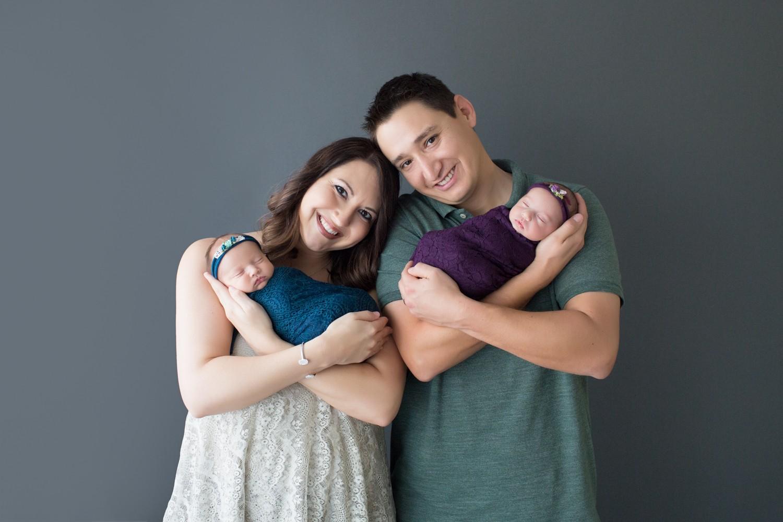 NewbornTwinGirls_TealandPurple_MotherandFathersLove_GainesvilleFlorida-3