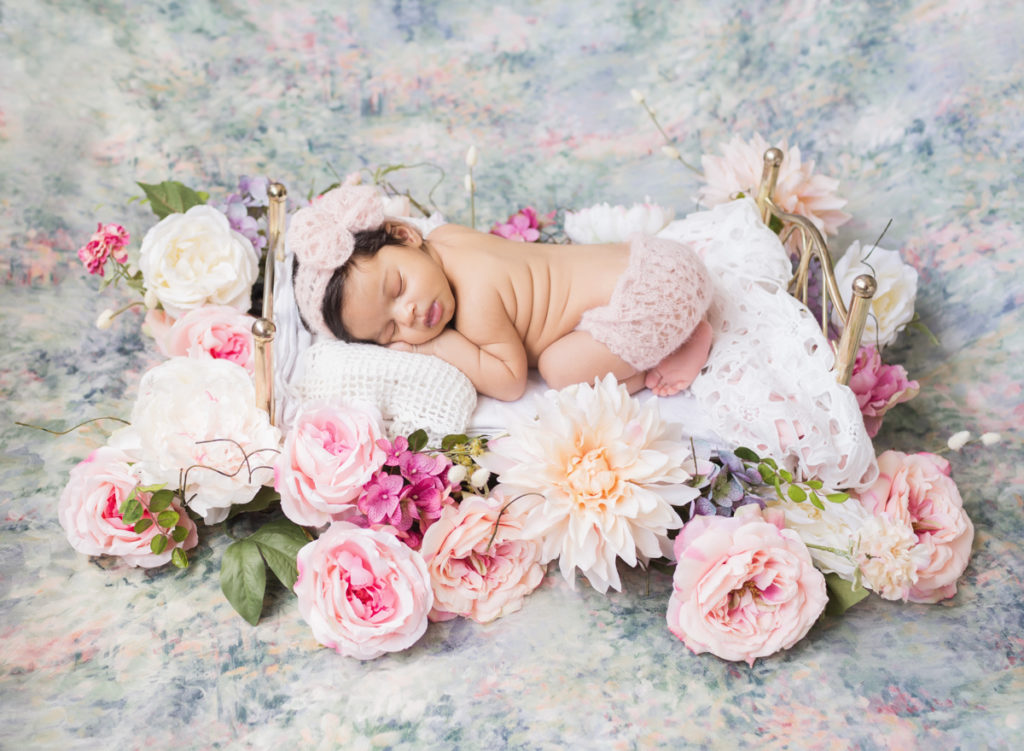 Pastels muted shades neutrals deep jewel tones whatever you choice is your newborn portraits will hang in your home and should match your personal home