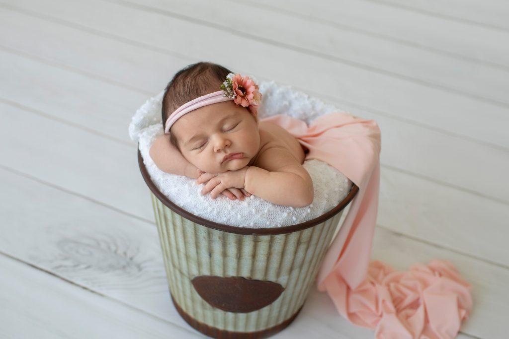 DIY Newborn Photos - This House of Dreams
