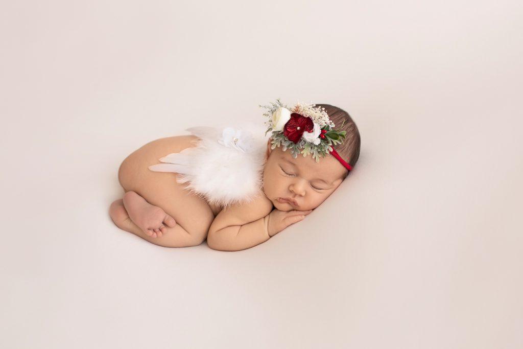 Newborn photos at 3 weeks