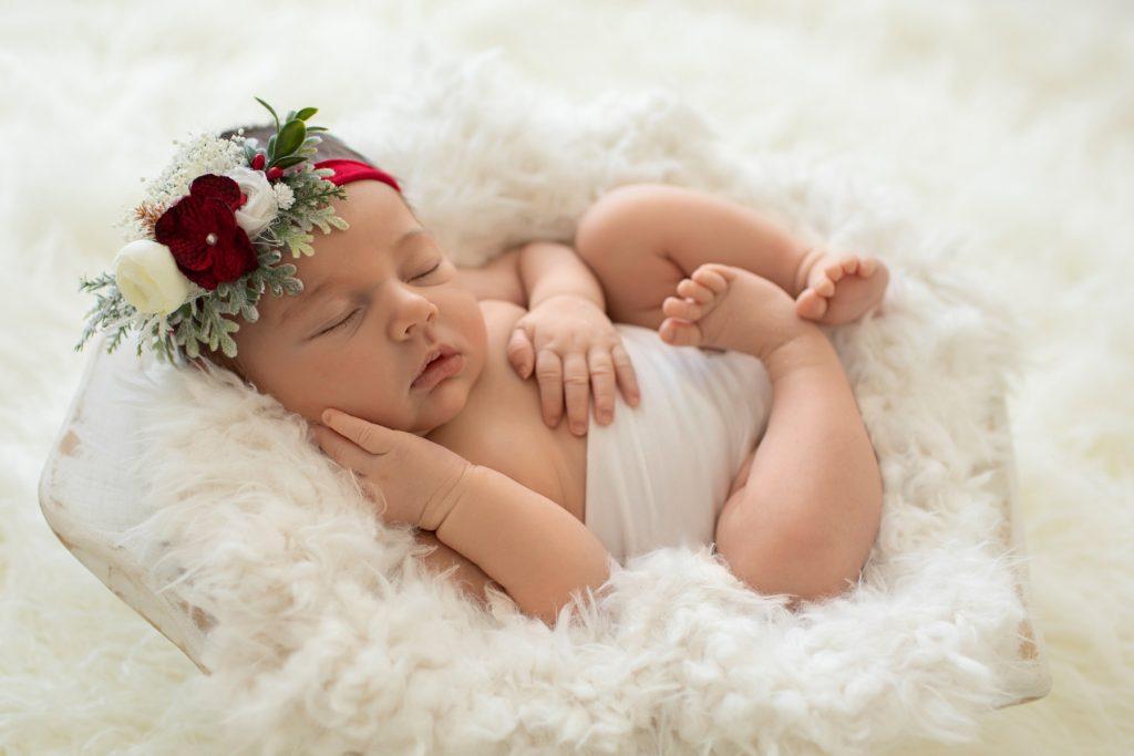 4 week old newborn photography