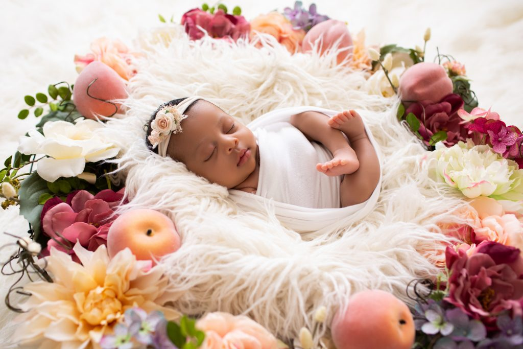 newborn photography girl