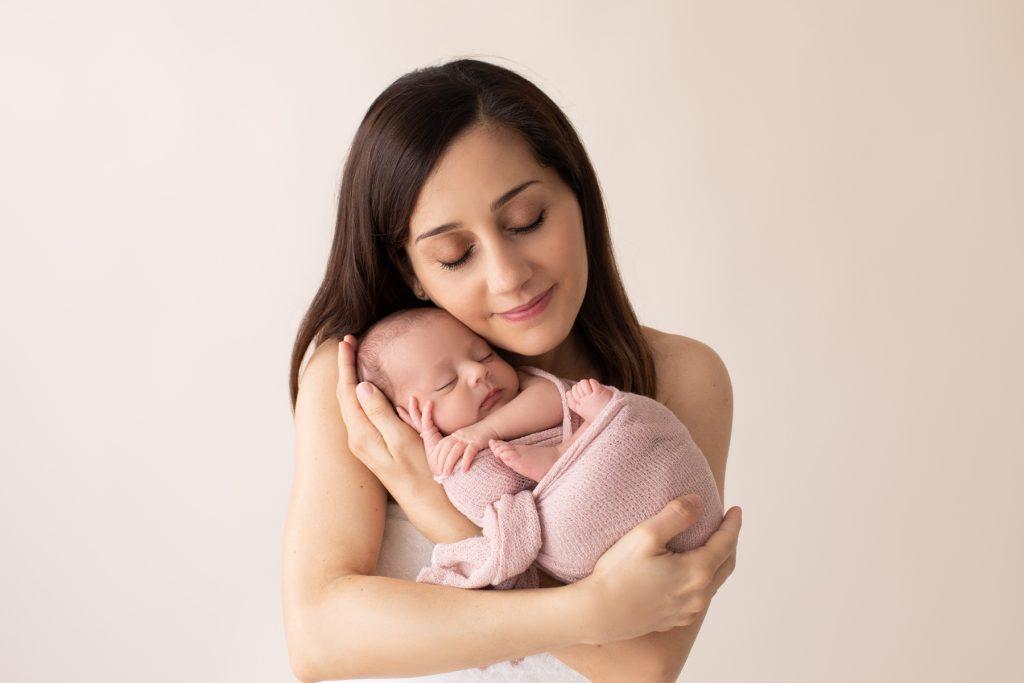 Rainbow Baby Newborn Photos