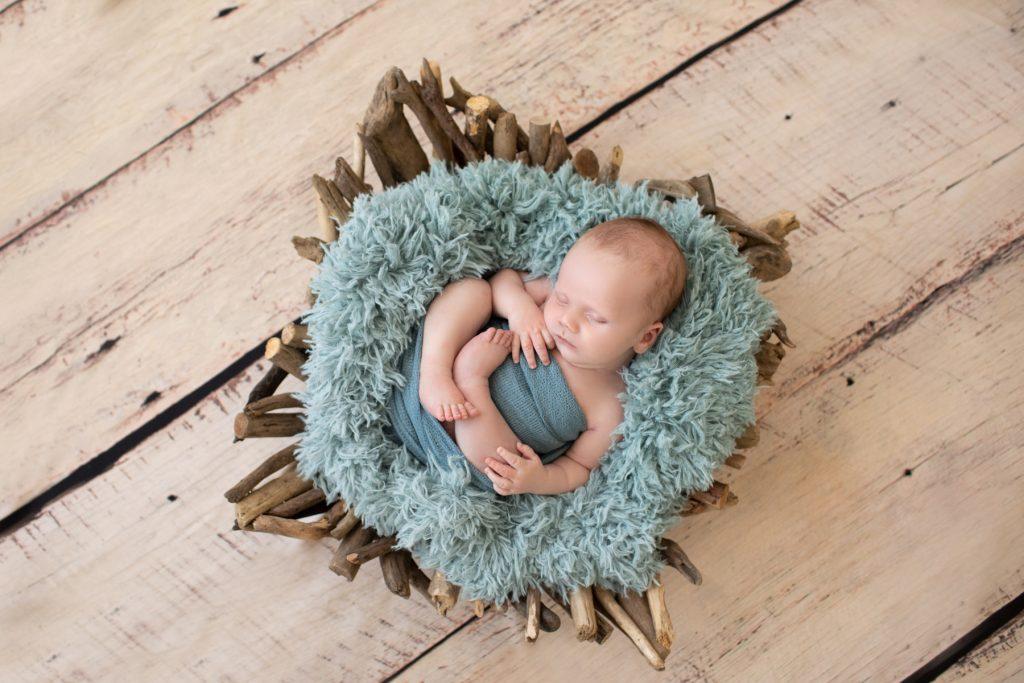 blue baby boy photo